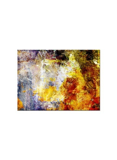 Arte Casero Soyut Kanvas Tablo 75x100 cm Renkli